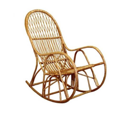 Фото - Плетенное кресло – качалка