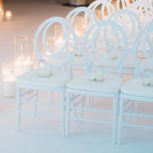 Фото - 3 Стілець Chanel білий