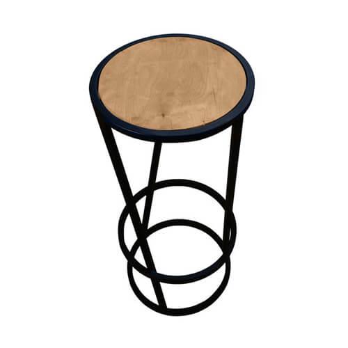 """Фото - 2 Барний стілець в стилі loft """"Round"""""""