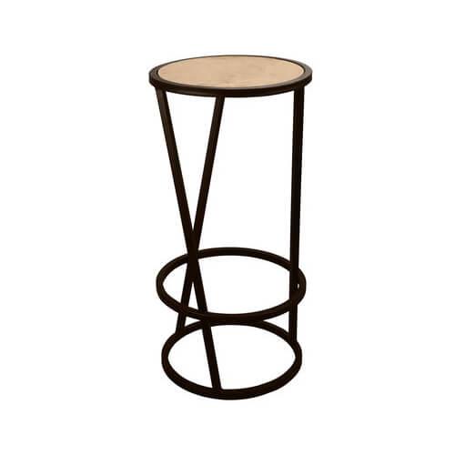 """Фото - 1 Барний стілець в стилі loft """"Round"""""""