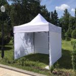 Фото - 12 Палатка 3*3 (белого цвета)