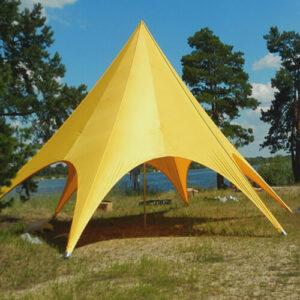 Фото - 3 Желтый шатер Звезда, d-12