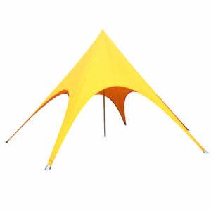 Фото - 1 Желтый шатер Звезда, d-12