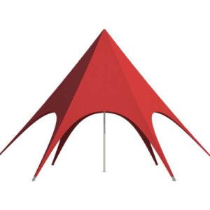 Фото - 1 Красный шатер Звезда, d-12