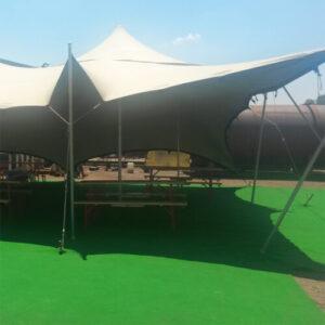 Фото - 3 Зеленый выставочный ковролин