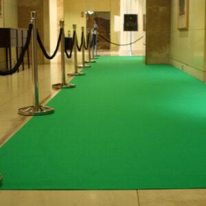 Фото - 3 Зеленый ковролин, прорезиненный