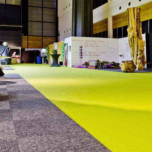 Фото - 2 Желтый выставочный ковролин