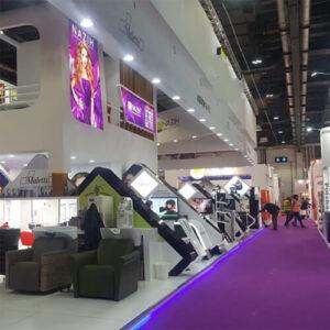 Фото - 3 Фиолетовый выставочный ковролин