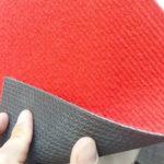 Фото - 5 Красный ковролин, прорезиненный
