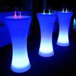 """Фото - 7 LED барный стол """"FLOX"""""""