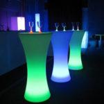 """Фото - 9 LED барный стол """"FLOX"""""""