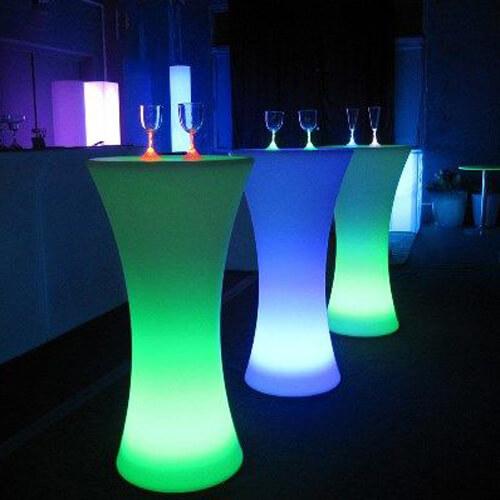 """Фото - 4 LED барный стол """"FLOX"""""""