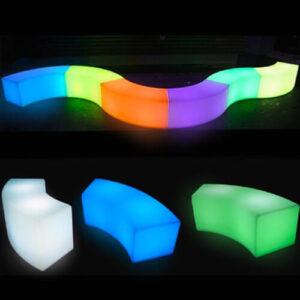 """Фото - 3 LED лавка """"Wave"""""""