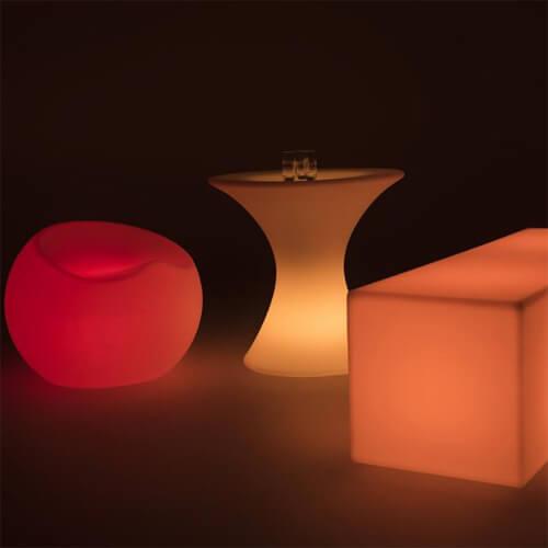 """Фото - 2 LED стол """"Lounge"""""""
