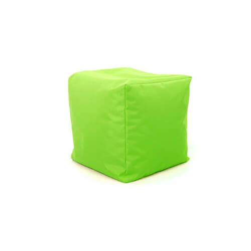 Фото - Пуф-куб, салатовий