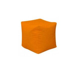 Фото - 1 Пуф-куб, оранжевый