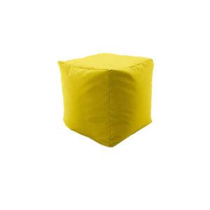 Фото - 1 Пуф-куб, желтый