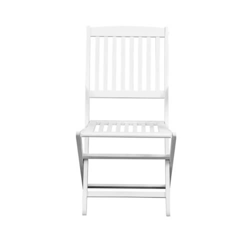 Фото - 1 Складной стул Meranti, белый