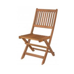 Фото - 1 Складаний стілець Meranti, коричневий