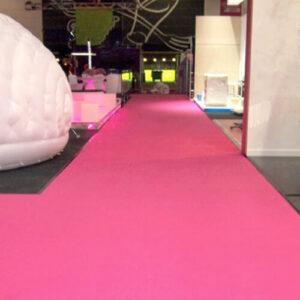 Фото - 3 Розовый выставочный ковролин